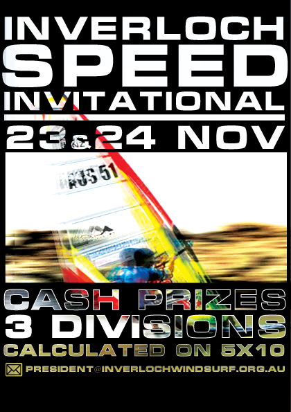 Inverloch Speed Invitational Flyer